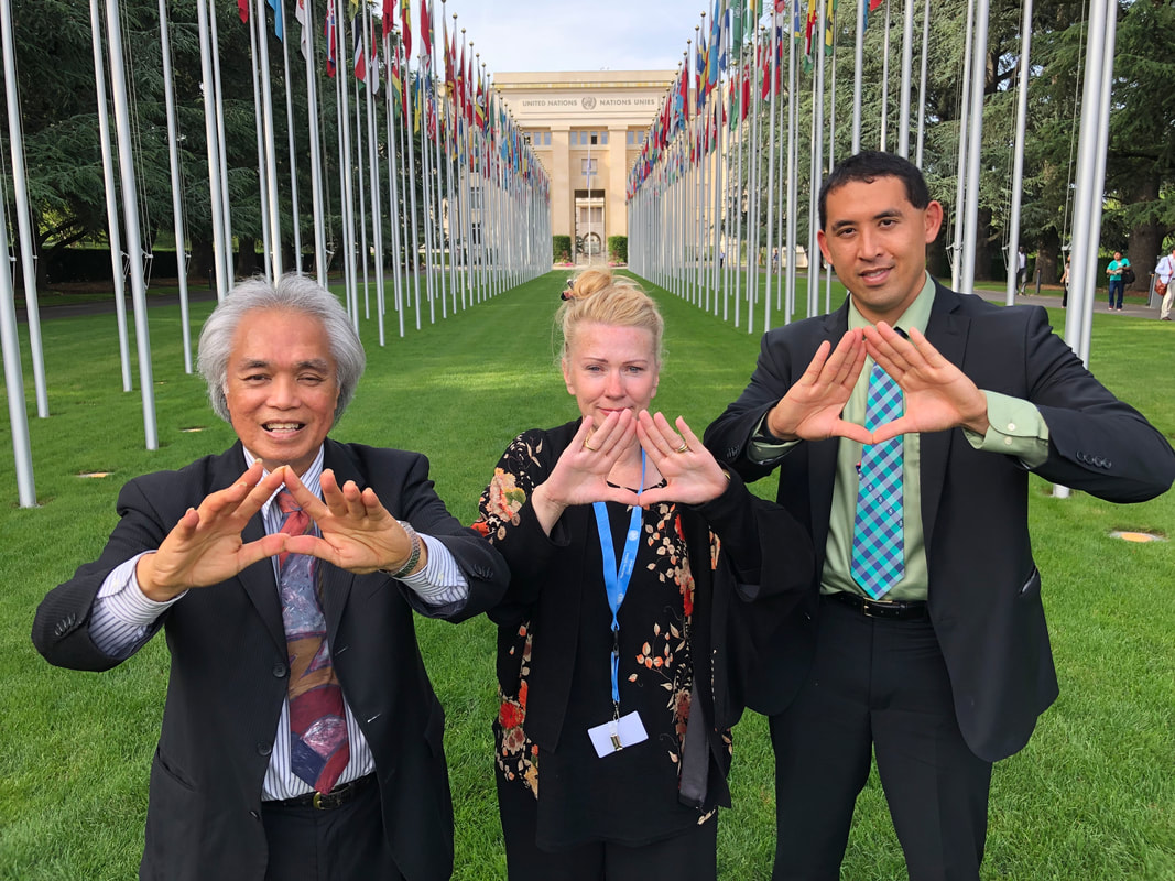 Hawaiian Kingdom United Nations Leon Siu, Catherine Fisher, Robert Kajiwara